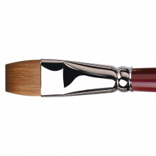 Da Vinci : Kolinsky Red Sable : Oil Brush : Series 1810 : Bright : Size 18