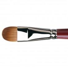 Da Vinci : Kolinsky Red Sable : Oil Brush : Series 1815 : Filbert : Size 18