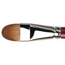 Da Vinci : Kolinsky Red Sable : Oil Brush : Series 1815 : Filbert : Size 22
