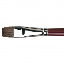 Da Vinci : Black Sable : Oil Brush : Series 1840 : Bright : Size 14