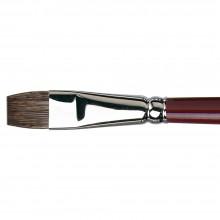 Da Vinci : Black Sable : Oil Brush : Series 1840 : Bright : Size 14