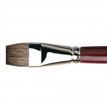Da Vinci : Black Sable : Oil Brush : Series 1840 : Bright : Size 24