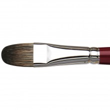 Da Vinci : Black Sable : Oil Brush : Series 1845 : Filbert : Size 18