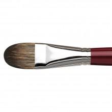 Da Vinci : Black Sable : Oil Brush : Series 1845 : Filbert : Size 24