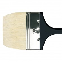 Da Vinci : Long Handled Flat Bristle Brush : 390mm : Series 7055 : Size 100mm