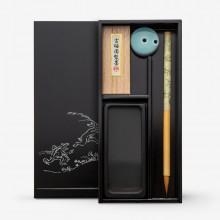 Akashiya : Brush : Black Calligraphy Set