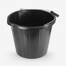 RTF Granville : Black Builders Bucket : 3 Gallon