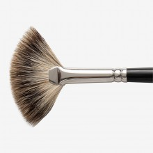 Jackson's : Short Handle Badger Fan Brush : Large