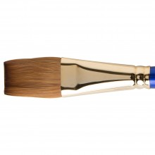 DALER ROWNEY : SAPPHIRE BRUSH : SERIES 21 : ONE STROKE : FLAT WASH : SIZE 1IN