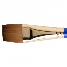 Daler Rowney : Sapphire Brush : Series 55 : Flat Wash : Size 1in