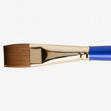Daler Rowney : Sapphire Brush : Series 55 : Flat Wash : Size 3/4in