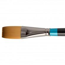 Daler Rowney : Aquafine Watercolour Brush : Af21 Synth One Stroke : 1In