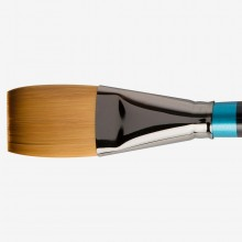 Daler Rowney : Aquafine Watercolour Brush : Af21 Synth One Stroke : 1 1/2In