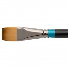 Daler Rowney : Aquafine Watercolour Brush : Af55 Short Flat : 1In