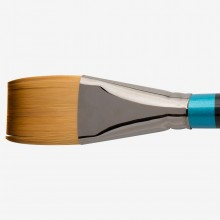 Daler Rowney : Aquafine Watercolour Brush : Af55 Short Flat : 1 1/2In