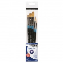 Daler Rowney : Aquafine Watercolour Brush : Wallet Set : 500
