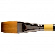 Daler Rowney : System 3 : Acrylic Brush : Sy21 Sh Long Flat : 1In