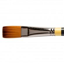 Daler Rowney : System 3 : Acrylic Brush : Sy44 Lh Flat : 12