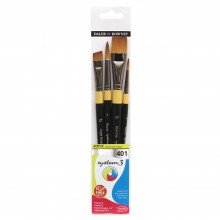 Daler Rowney : System 3 : Acrylic Paint Wallet Set : 401