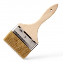 RTF Granville : Fibreglass Priming/Laminating Brush (White Bristle) : 4 in