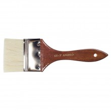 Alberto : Thin Flat Bristle Brush Size 3 inch
