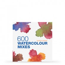 600 Watercolour Mixes : Book by Sharon Finmark