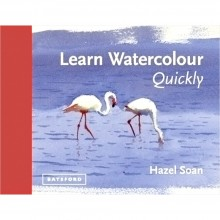 Learn Watercolour Quickly Book by Hazel Soan