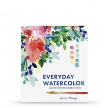 Everyday Watercolor : Learn to Paint Watercolor in 30 Days : Book by Jenna Rainey