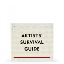 Artists Survival Guide Book by V22 in Collaboration and Tara Cranswick