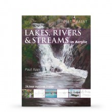 Lakes, Rivers & Streams in Acrylic Book by Paul Apps