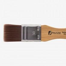 Pro Arte : Utility Brush : Series 23 : Synthetic Varnish Brush : Flat : 30mm