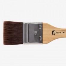 Pro Arte : Utility Brush : Series 23 : Synthetic Varnish Brush : Flat : 40mm