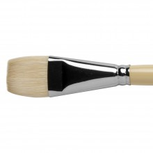 Pro Arte : Series B Hog : Bristle Brush : Short Flat : Size 16