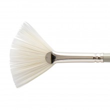 Pro Arte : Bristlene : Series D : Synthetic Oil & Acrylic Brush : Fan : Large