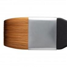 Princeton : Aqua Elite : Synthetic Kolinsky Sable : Watercolour  Brush : Series 4850 : Short Handle : Mottler : Size 1.5in