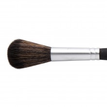Princeton : Aqua Elite : Synthetic Kolinsky Sable : Watercolour  Brush : Series 4850 : Short Handle : Mop : Size 3/4in