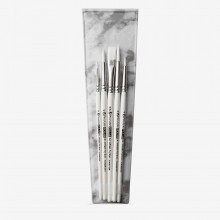 Pro Arte : Polar : Brush Wallet Set : 2-4-6-8 Rnd & 1/2 Flat