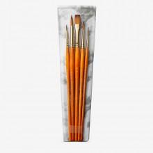 Daler Rowney Aquafine Watercolour Brush Wallet Set 500