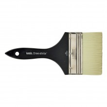 Liquitex Brush MURAL Short Handle VARNISH 4 INCH