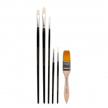 Rosemary & Co : The Jason Morgan : Basic Wildlife Brush : Set of 6