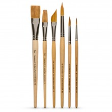 Rosemary & Co : Watermedia Brush : Set of 6
