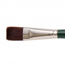Silver Brush : Ruby Satin : Synthetic Brush : Series 2502 : Bright : Size 12