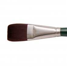 Silver Brush : Ruby Satin : Synthetic Brush : Series 2502S : Bright : Size 30