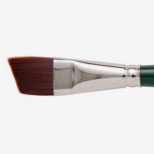 Silver Brush : Ruby Satin : Synthetic Brush : Series 2506S : Angular : Size 3/4 in