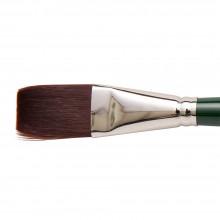 Silver Brush : Ruby Satin : Synthetic Brush : Series 2511S : Stroke : Size 1 in