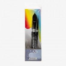 Silver Brush : Black Velvet : Squirrel & Risslon Brush : Master Watercolour Set of 3