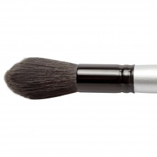 Silver Brush : Black Velvet : Squirrel & Risslon Brush : Series 3025S : Jumbo Round Wash : Size L