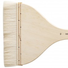 Silver Brush : Atelier Hake : Long Handle : Flat : Size 90 : 150mm Wide