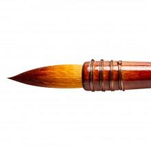 Silver Brush : Atelier Golden Taklon Quill : Series 5225S : Round : Size 120