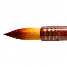 Silver Brush : Atelier Golden Taklon Quill : Series 5225S : Round : Size 160
